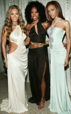 Beyoncé , Kelly Rowland & Michelle Williams Of Destiny's Child, All Wearing Roberto Cavalli Beyonce Style, Beyonce And Jay, Beyonce Knowles, Black Celebrities, Celebs, Beautiful Celebrities, Beyonce Performance, Beyonce Beyhive, Women In Music