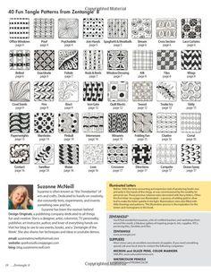 Zentangle 8: Monograms & Alphabets: Suzanne McNeill: 9781574213621: Amazon.com: Books