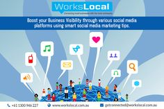 Get more leads for your business by promoting it to the very end of your local community. Workslocal is one of leading local area marketing company in Australia, expert in brand awareness, facebook advertising, promotional products, social media marketing tips and more. They will boost your business visibility with their innovative marketing strategies.