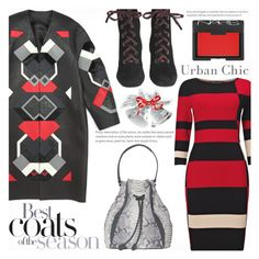 """Best Coats"" by gabrilungu ❤ liked on Polyvore featuring Loewe, Phase Eight, Prada, Khirma Eliazov and NARS Cosmetics"