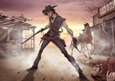Red Dead Redemption Artwork by Patrick Brown