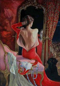 Elena Kukanova, 1979 ~ The Red Mask