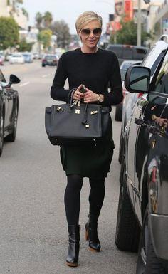 Portia de Rossi Photos: Portia de Rossi Shops In Beverly Hills... love this look