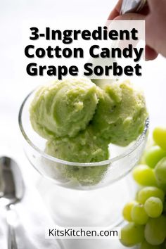 Check out this homemade sorbet recipe! Quick to make, refreshing, and made with just 3 ingredients! Our homemade sorbet recipe is dairy-free, paleo, gluten-free, and can be made vegan!