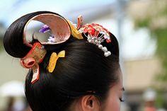Shizuoka 静岡 / Festival 島田髷まつり(日本髪・吹輪島田)