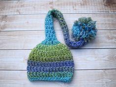 Crochet Baby Hat Crochet Newborn Hat Baby Boy Hat por Monarchdancer Frikis 43ef9e412fd