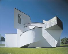 The Vitra Design Museum was Frank Gehry's first building in Europe (1989).