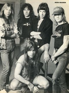 Iron Maiden - As one of the best and most famous metal bands of all times Iron Maiden had a great career of brilliant music and sone lineup changes which didn't stop them to stay relevant for most of their run in the music industry.