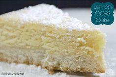 Lemon OOPS Cake / Bu