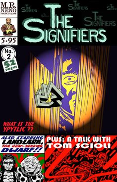 The cover of The Signifiers #2.