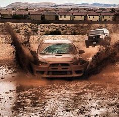 Mitsubishi Evolution X Mud