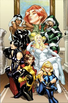 X-Girls by Terry Dodson