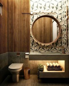 Small Bathroom Renovations 598064025501908246 - Current Bathroom trends : What to consider in your own home Bathroom Mirror Design, Washroom Design, Bathroom Red, Toilet Design, Bathroom Design Luxury, Modern Bathroom Design, Bathroom Ideas, Budget Bathroom, Small Luxury Bathrooms