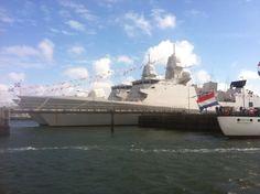 Latest Netherlands Navy frigate.