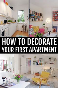apartment must haves first apartment and apartments on pinterest. Black Bedroom Furniture Sets. Home Design Ideas