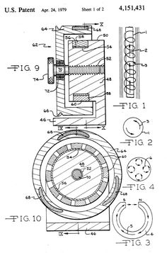 Patent US4151431 - Permanent magnet motor - Google Patents.  this motor will last over a 100 years