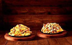 Todo mundo conhece as Aussie Cheese Fries do Outback, uma generosa porção de batatas fritas cobertas com mix de queijos e bacon, acompanhada de molho Ranch.