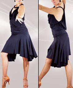 latin dance skirt