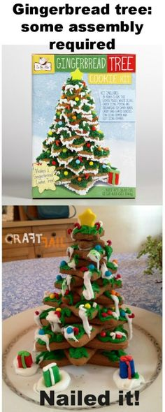 Gingerbread Tree Nailed it