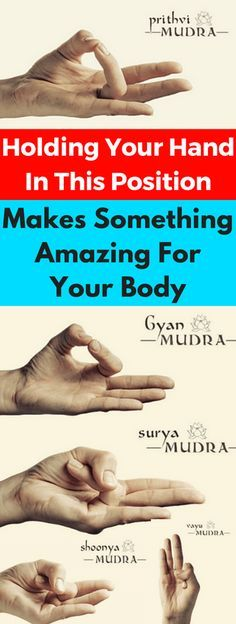 Holding Your Hand In This Position Makes Something Amazing For Your Body: How To Do It - infacter