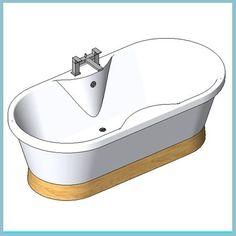 Venice Light Oak and Kubic Bath Filter