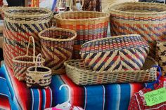 baskets of native americans | Mississippi Choctaw Baskets