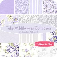 Hibiscus Wildflowers Collection Fat Quarter Bundle Rachel Ashwell for Treasures by Shabby Chic - Fat Quarter Shop