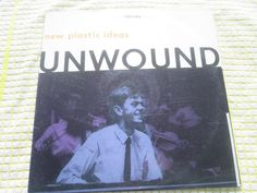 UNWOUND New Plastic Ideas. Kil Rok Star KRS 223 + Inner Sheet US Vinyl Album LP