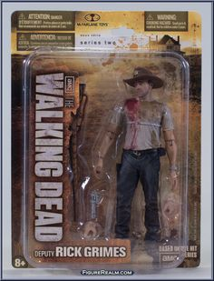 Rick Grimes 2 Action Figure McFarlane Toys The Walking Dead TV Series 2