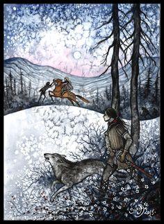 Farseer Trilogy - Come, hunt with me by Sieskja.deviantart.com on @DeviantArt
