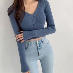 Korean Fashion Dress, Ulzzang Fashion, Kpop Fashion Outfits, Korea Fashion, Edgy Outfits, Korean Outfits, Cute Casual Outfits, Simple Outfits, Pretty Outfits