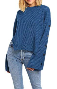 Qiangjinjiu Mens Casual Fashion Pullover Sweater Knitwear Long Sleeve Jumper