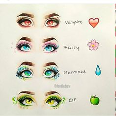 7 drawing tips for beginners is part of Eye drawing - 7 Drawing Tips for Beginners artReference Mermaid Drawing Eyes, Painting & Drawing, Makeup Drawing, Realistic Eye Drawing, Drawing Hair, Drawings Of Eyes, Anime Eyes Drawing, Vampire Drawings, Drawing Girls