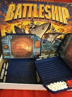 Battleship Combat Game Board Game 2002    eBay Battleship Board, Game Title, Vintage Witch, Children Toys, Strategy Games, Toys Shop, All Pictures, Board Games, Classic