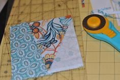 If you've never tried paper piecing, this step-by-step tutorial will help you master the basics. With a little practice, you'll be able to tackle any foundation paper-pieced pattern!