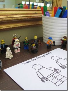 Lego Birthday How-to - These ideas seemed simple, inexpensive and most of all fun! Good ideas!