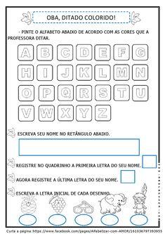 Alfabetizar com AMOR: MÚSICA PARA INTRODUZIR O ALFABETO + ATIVIDADE - 2º PERÍODO/ 1º ANO/ 2º ANO