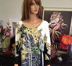 Cato Woman Tunic Beads Butterfly 18 20W Designer Fashion Plus Size   eBay