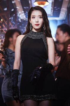 Iu Fashion, Korean Fashion, Korean Girl, Asian Girl, Iu Hair, Chica Cool, Korean Actresses, Celebs, Celebrities