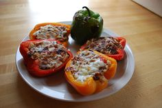 Grilled Stuffed Peppers (recipe) #healthy food recipes under 300 calories  Learn steps to Get best Low cost Health insurance  GO http://healthinsuranceinfoblog.blogspot.com/