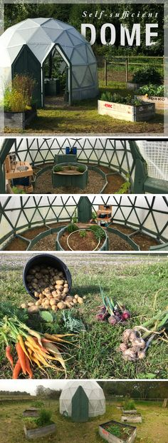 Ever wondered what it takes to build an automated greenhouse? This self-sufficient #dome is the perfect #iot project for outdoorsy types.