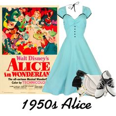 """""""Alice: 1950s"""" by karlynedc on Polyvore"""
