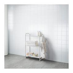 MULIG Shelf unit, white white 22 7/8x13 3/8x35 3/8