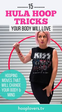 Click here to get your free online workshop! 15 hoop moves your body will LOVE https://youtu.be/80FoaWzJWM8