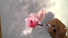 Free exercise (2/3) of decorative painting: a study of roses