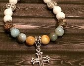 Christian Bead Stack Bracelet