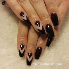 Ballerina nails Ballerina Nails, Nail Artist, Beauty, Beauty Illustration