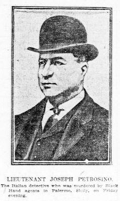 Joe Petrosino Murder - GangRule