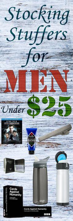 Stocking Stuffers for Men Under $25