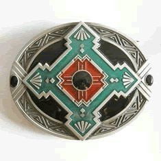 Native American Indian Art Belt Buckle (WT-059) « Holiday Adds